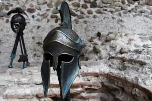 Spartan helmet dpc