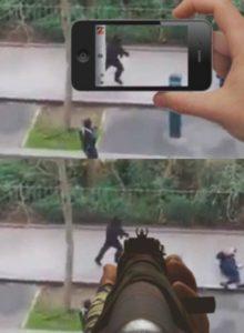 camera or gun