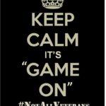 "#NotAllVeterans:  Declaring ""Game On"""