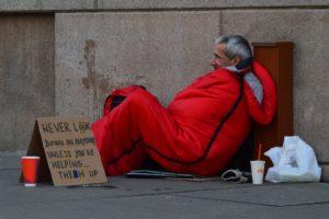 homeless people advice