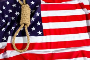 US flag and noose dpc