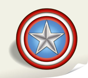 Captain America shield   dpc