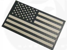 US flag IR pattern