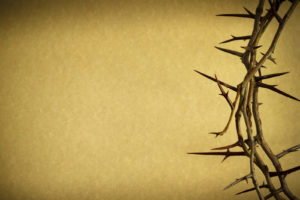Crown Of Thorns Represents Jesus Crucifixion on Good Friday