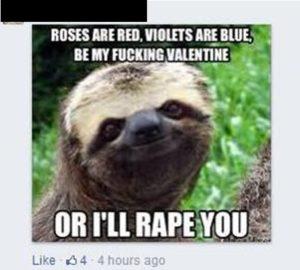 rape joke