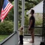 VIDEO: Chris Pratt Teaches His Son The Pledge Of Allegiance