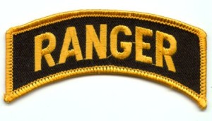 This is what you are awarded after graduation of Ranger School.
