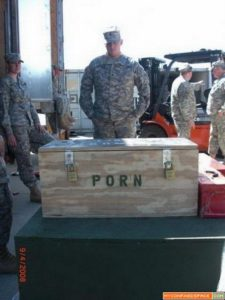 crate of porn