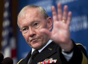 With President Watching, General Dempsey Drops Mic, Walks Off Stage In Epic Retirement Performance • The Havok Journal