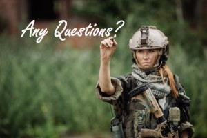 female soldiers any questions big