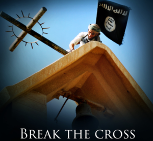 "Recent Dabiq Magazine's cover photo on ""Breaking the Cross"" and attacking Christians"