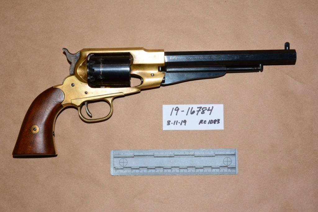 I'm Your Huckleberry: Felon Arrested with Black Powder Revolver