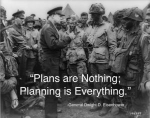 Planning is Everything - Dwight Eisenhower