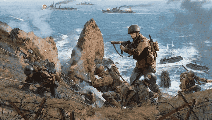 The Boys Of Pointe Du Hoc Rangers Lead The Way The