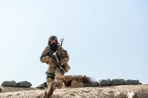 US Special Forces in combat in Afghanistan