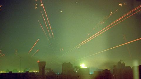 iraq fireworks