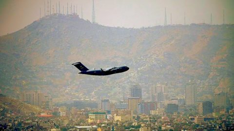 The Last Plane out of Kabul